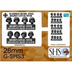 G-SHS3 - Infanterie SS en casques avec camouflage