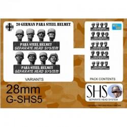 G-SHS5 - Parachutistes en casques