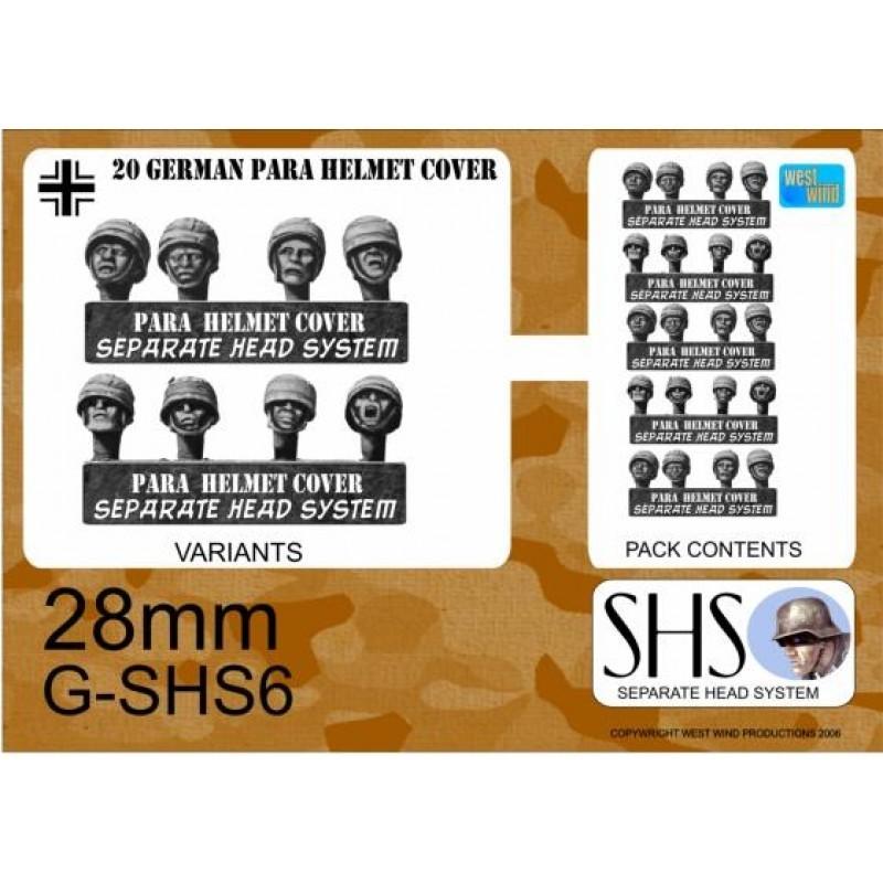 G-SHS6 - Parachutistes en casques avec camouflage