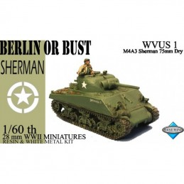 WVUS01 - US M4A3 Sherman 75MM DRY