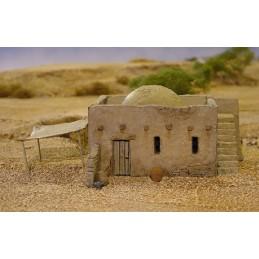 Accessoires pour la maison en briques en terre battue