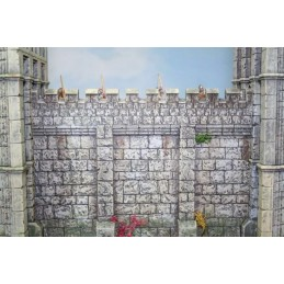 Mur droit