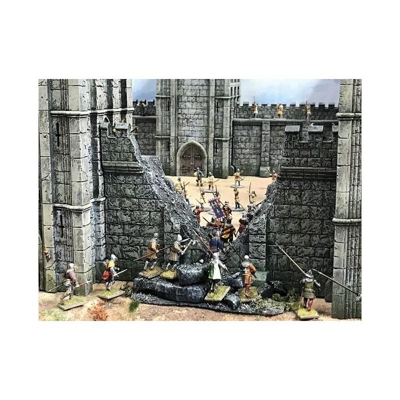 Mur avec brèche