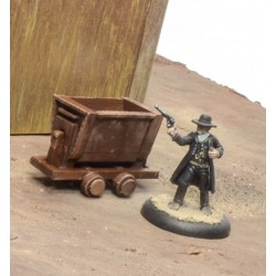 Wagons pour mines