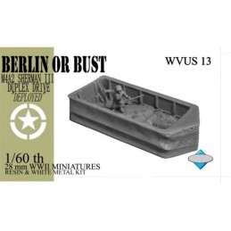 """WVUS13 - M4A2 Sherman III """"écran de flottaison""""  déployé"""
