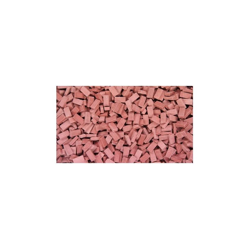 24028 Briques rouge foncé