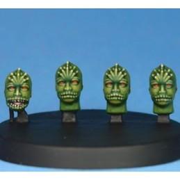 Têtes d'aliens III