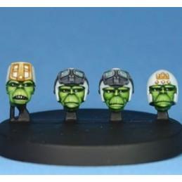 Têtes d'aliens IV