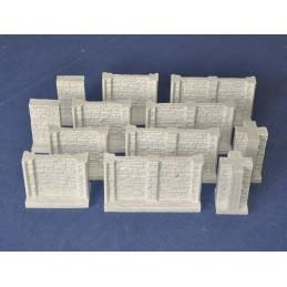 1000B Set de murs pour donjon