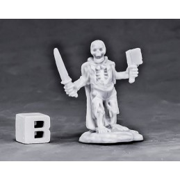 77562 Squelette d'aventurier halfling