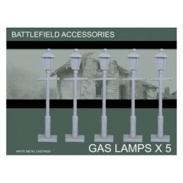BAW06 - Lampadaires au gaz