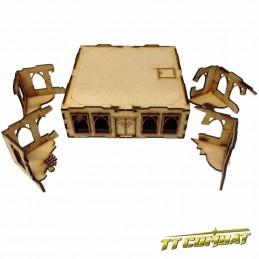 Bâtiment en ruines