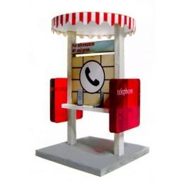 Kiosque téléphonique