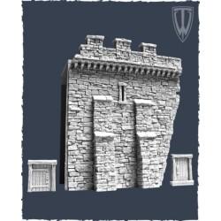 Murs de cité médiévale : section G
