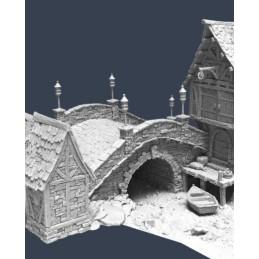 Section pour pont en pierre