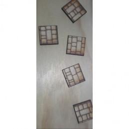Socles carrés 20X20 gravés