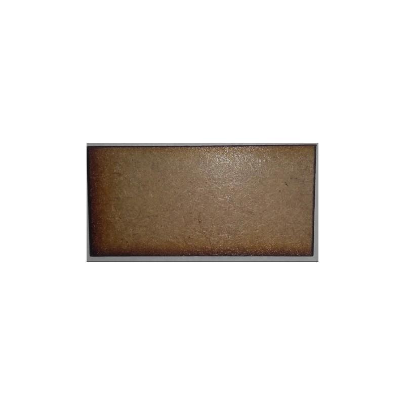 Socle rectangulaire 100 x 40mm