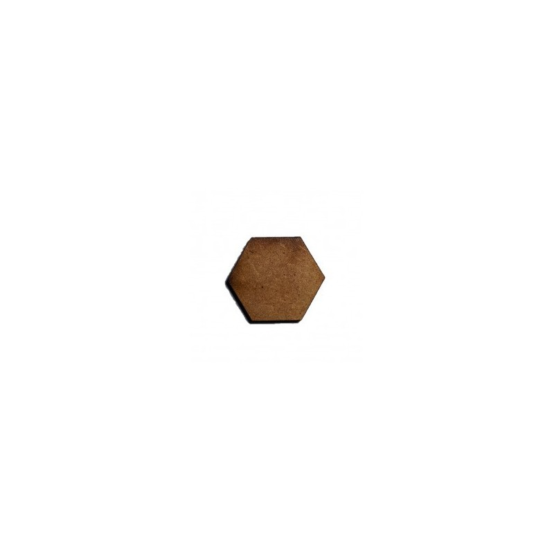 Socles hexagonaux diamètre 25mm