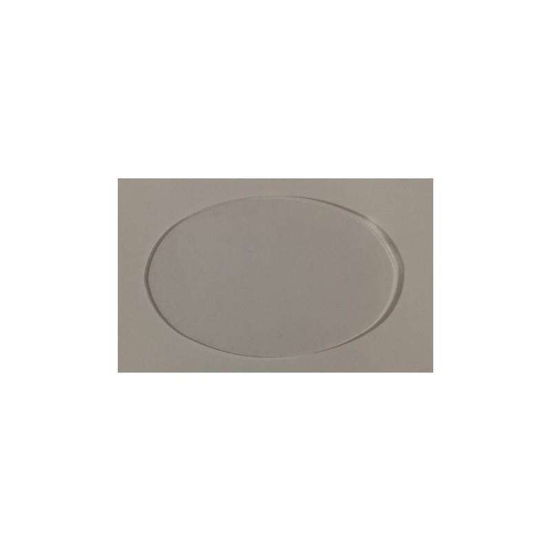 Socle acrylique ovale 120x90