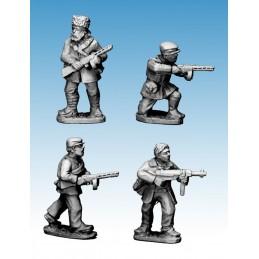 WWP052 - Partisans avec pistolet-mitrailleurs