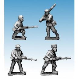 WWP053 - Partisans avec mitrailleuses légères