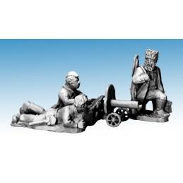 WWP060 - Partisans avec Mitrailleuse Maxim