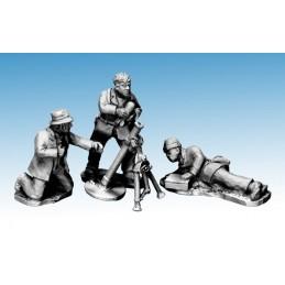 WWP061 - Partisans avec mortier
