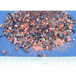 Eboulis de brique et de pierre