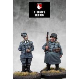 Kommandant Oberst Wilhelm Klink & Oberfeldwebel Hans Georg Schultz
