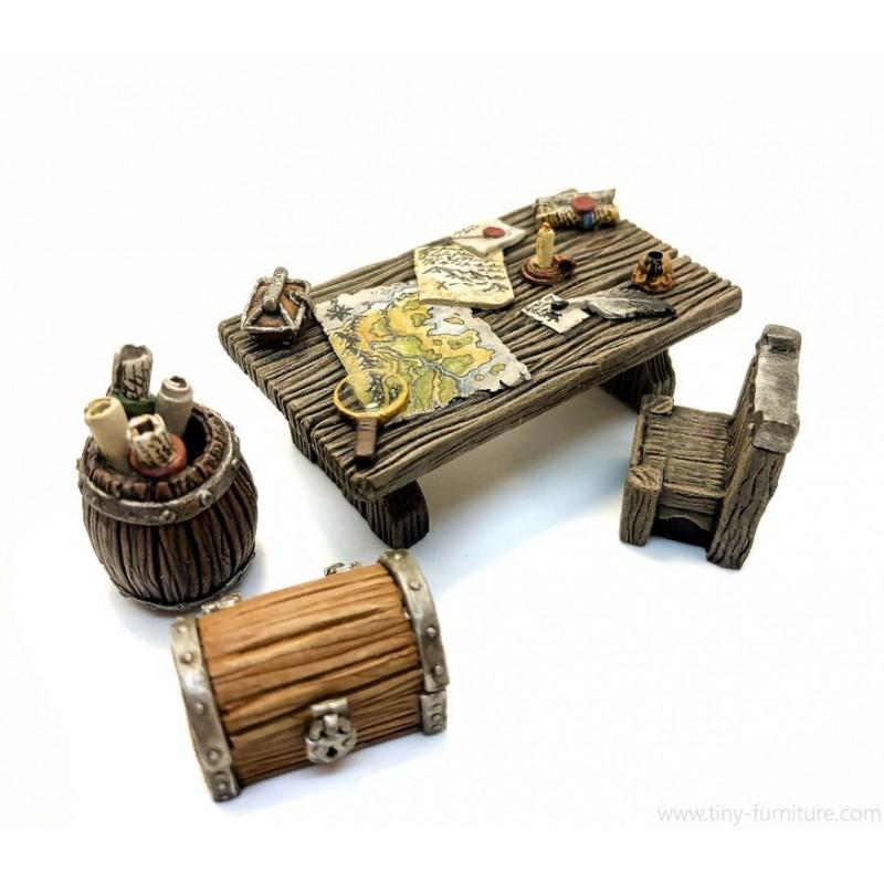 Table de chasseur de trésor