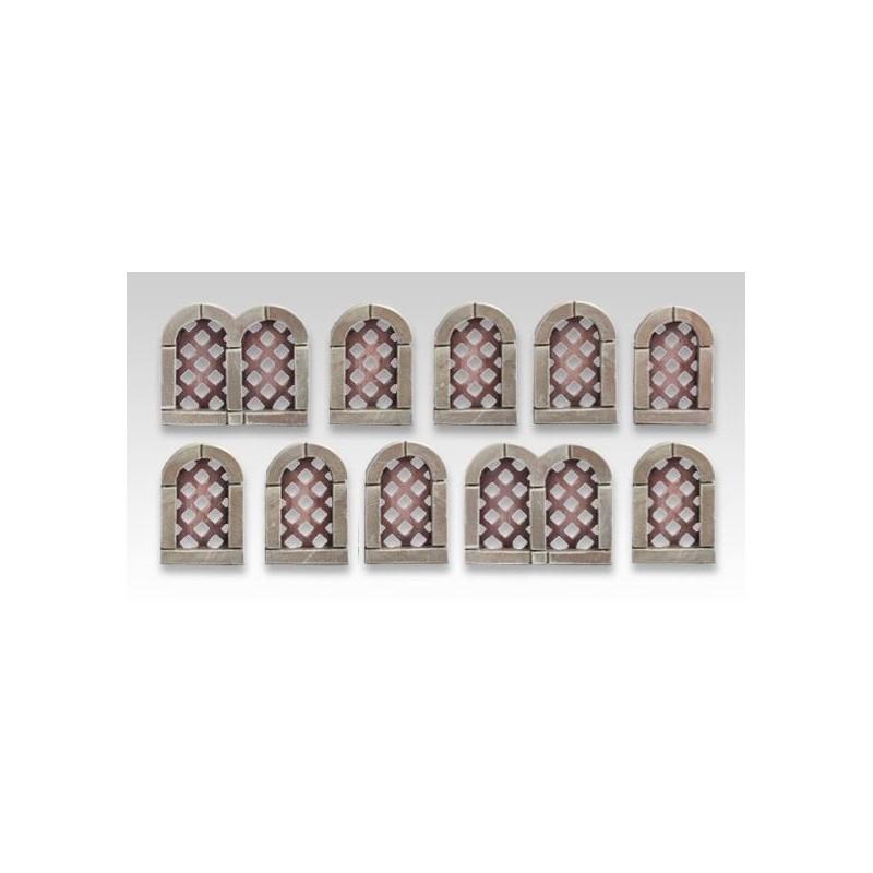 Fenêtres médiévales set 3