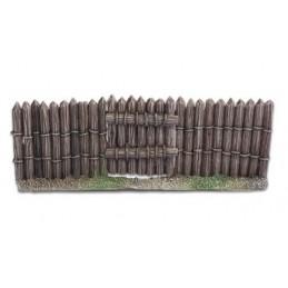 Porte pour palissades en bois