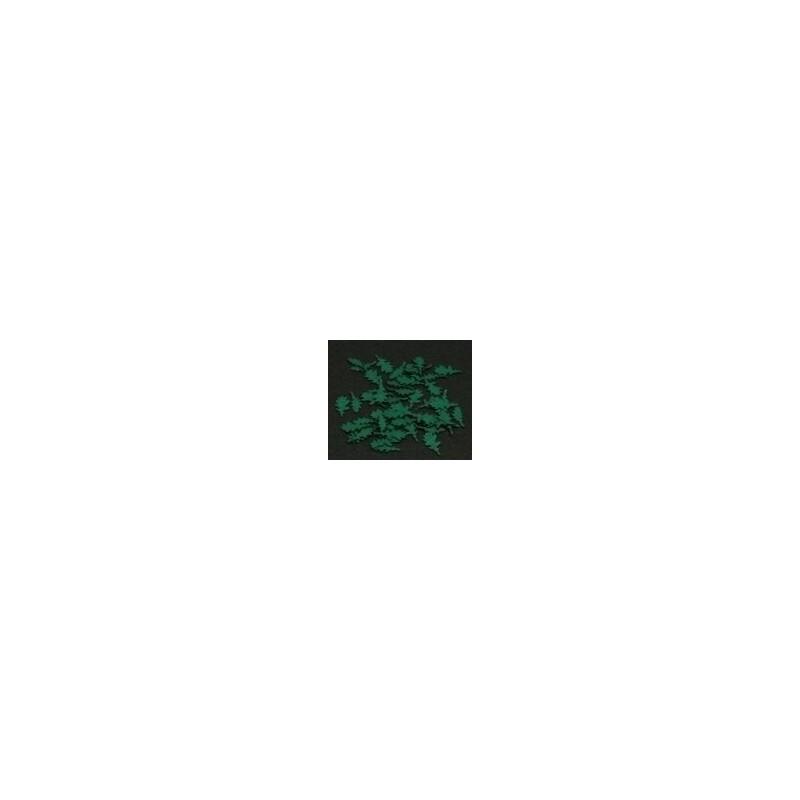 GL055 225 feuilles de chêne de 7 tailles différentes