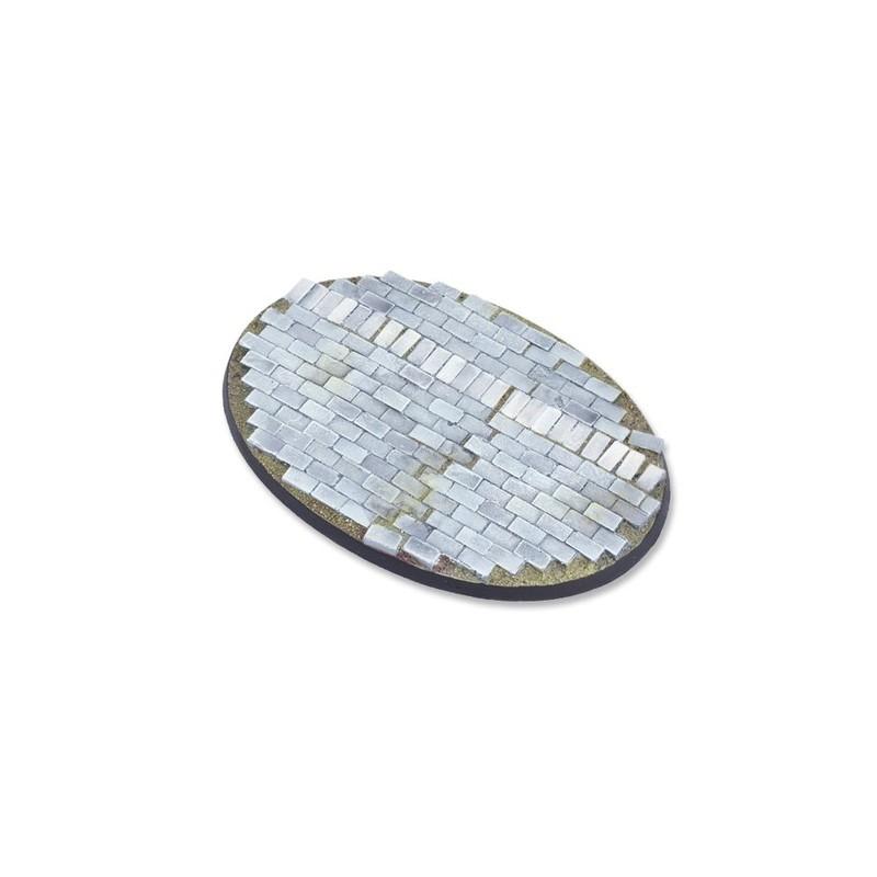 Base ovale de 105mm