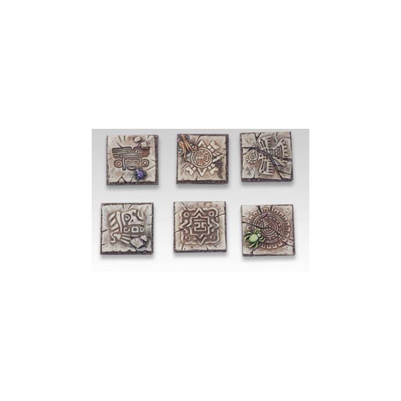 Bases carrées de 25mm