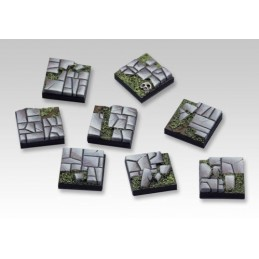 Bases carrées de 20 x 20mm