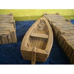 6079127 Barque et ponton