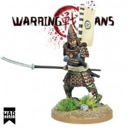 WB-SAM003 - Samurai avec Naginata
