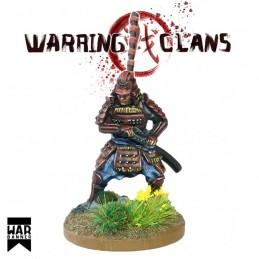 WB-SAM006 - Samuraï dégainant son Katana