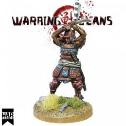 WB-SAM008 - Samouraï armant son Katana