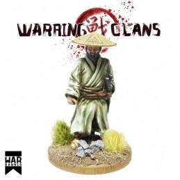 WB-SAM010 - Samouraï voyageant