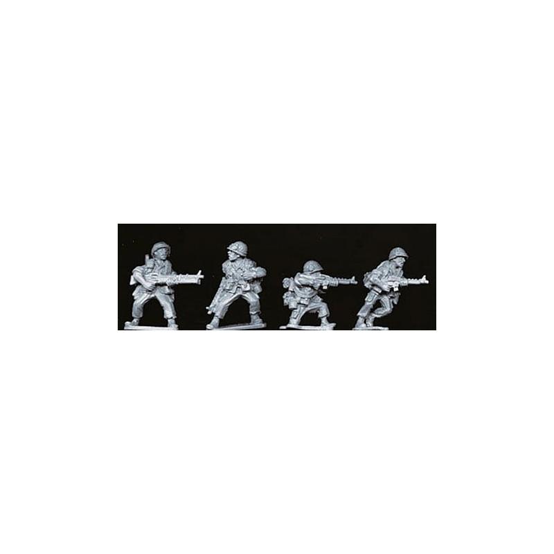 VNM001 Soldats US avec barda complet et M60
