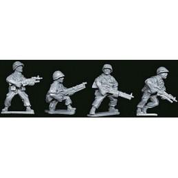 VNM014 Soldats US avec M203 et M60