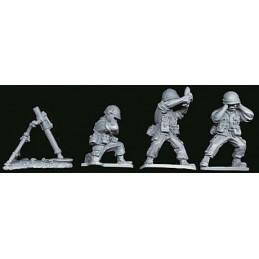 VNM017 Mortier de 81mm avec servants