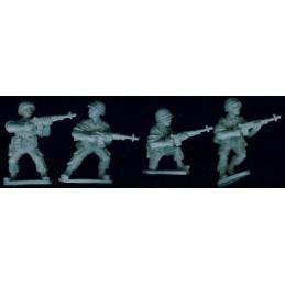 VNM025 Soldats US avec M14 (sans sac)
