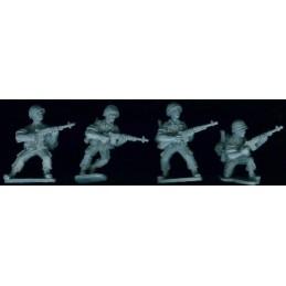 VNM026 Soldats US avec M14 et sacs