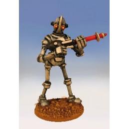Robot légionnaire avançant