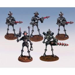 Unité de commandement de robots légionnaires