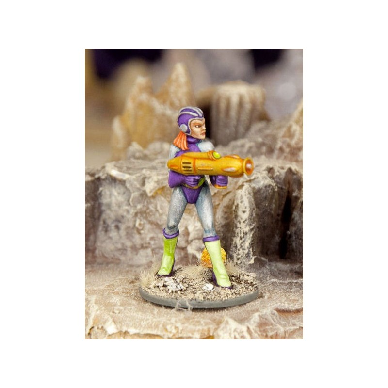 Valkeeri Soldat avec canon support A