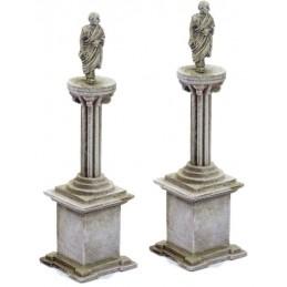 T040 - Piliers avec colonnes (sans statue)